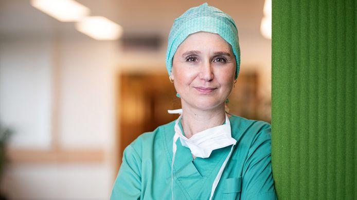 Topdokter Aude Vanlander (UZ Gent).