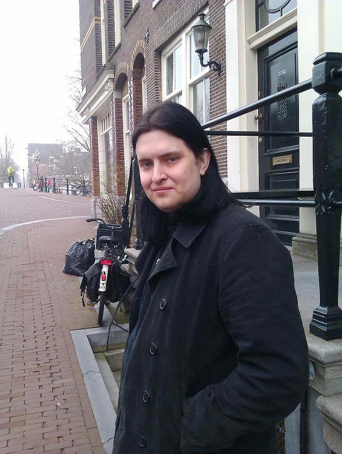 Amsterdammer Mickey Fudge (31), die door de politie werd doodgeschoten op het Westeinde.