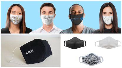 Basic, grappig of net modebewust: hier vind je de leukste mondmaskers