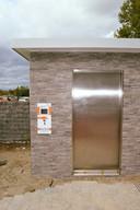 Het nieuwe openbare toilet op het Marktplein van Harelbeke is vanaf vandaag in gebruik.