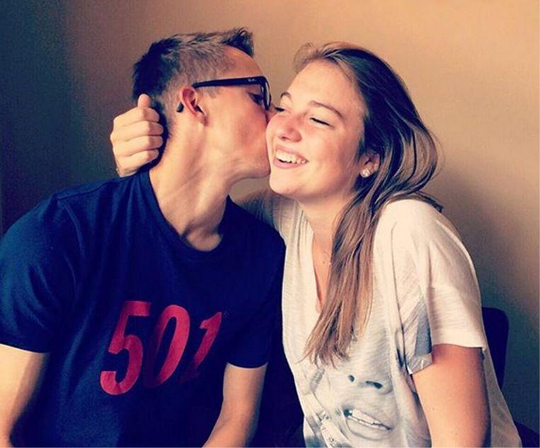 'Samen met mijn vriendin Camille heb ik twee maanden opgesloten gezeten in mijn appartement in Bergamo. We mochten zelfs niet in het park gaan wandelen.' Beeld