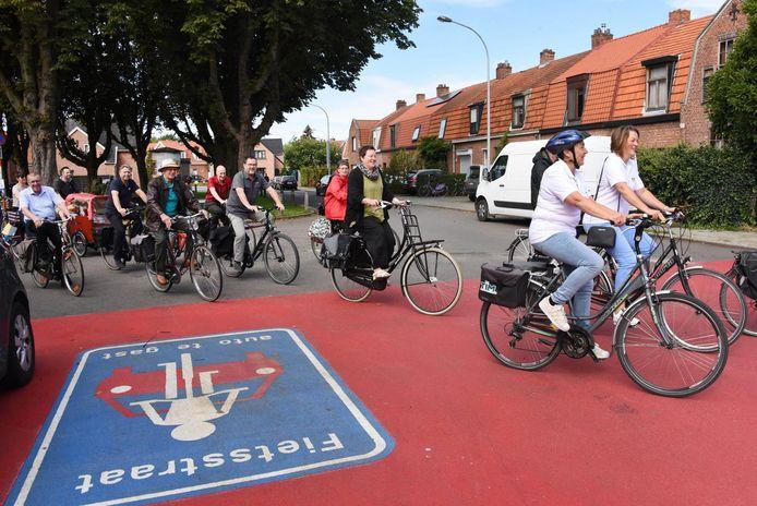Archief: In 2018 werd een fietsas in gebruik genomen