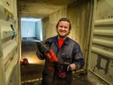 Gep uit Almelo leert zichzelf tiny house bouwen: hoop dat ik starters op woningmarkt kan helpen