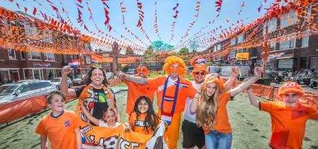 16 kilometer vlaggetjes kleuren de Damasstraat 'een mooie afleiding na die wedstrijd van ADO'