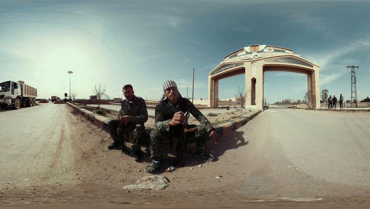 Syria's Silence, een Virtual Reality-reportage voor de VRT. Beeld VRT