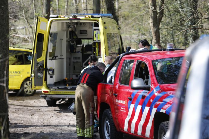 Mountainbiker gewond op Bergse Heide