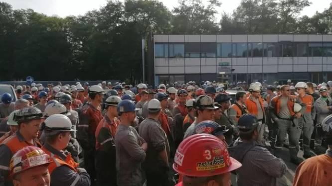 Les ouvriers d'ArcelorMittal à Gand ont repris le travail