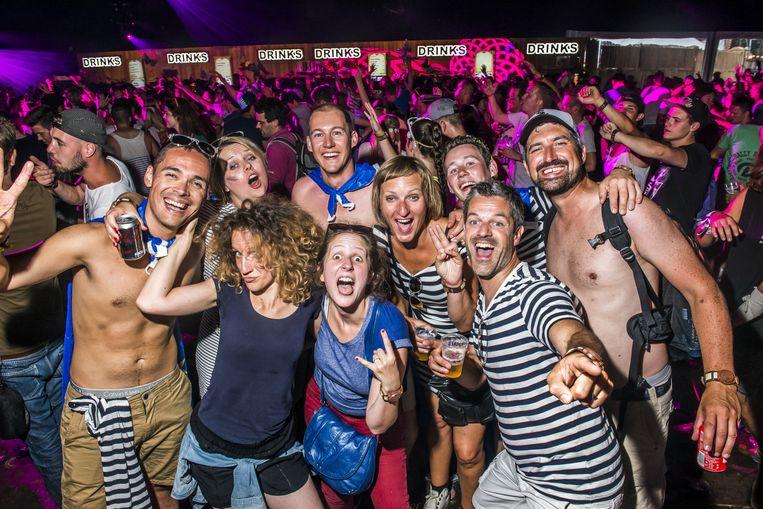 Aan enthousiasme nooit gebrek op Tomorrowland. Beeld Stefaan Temmerman
