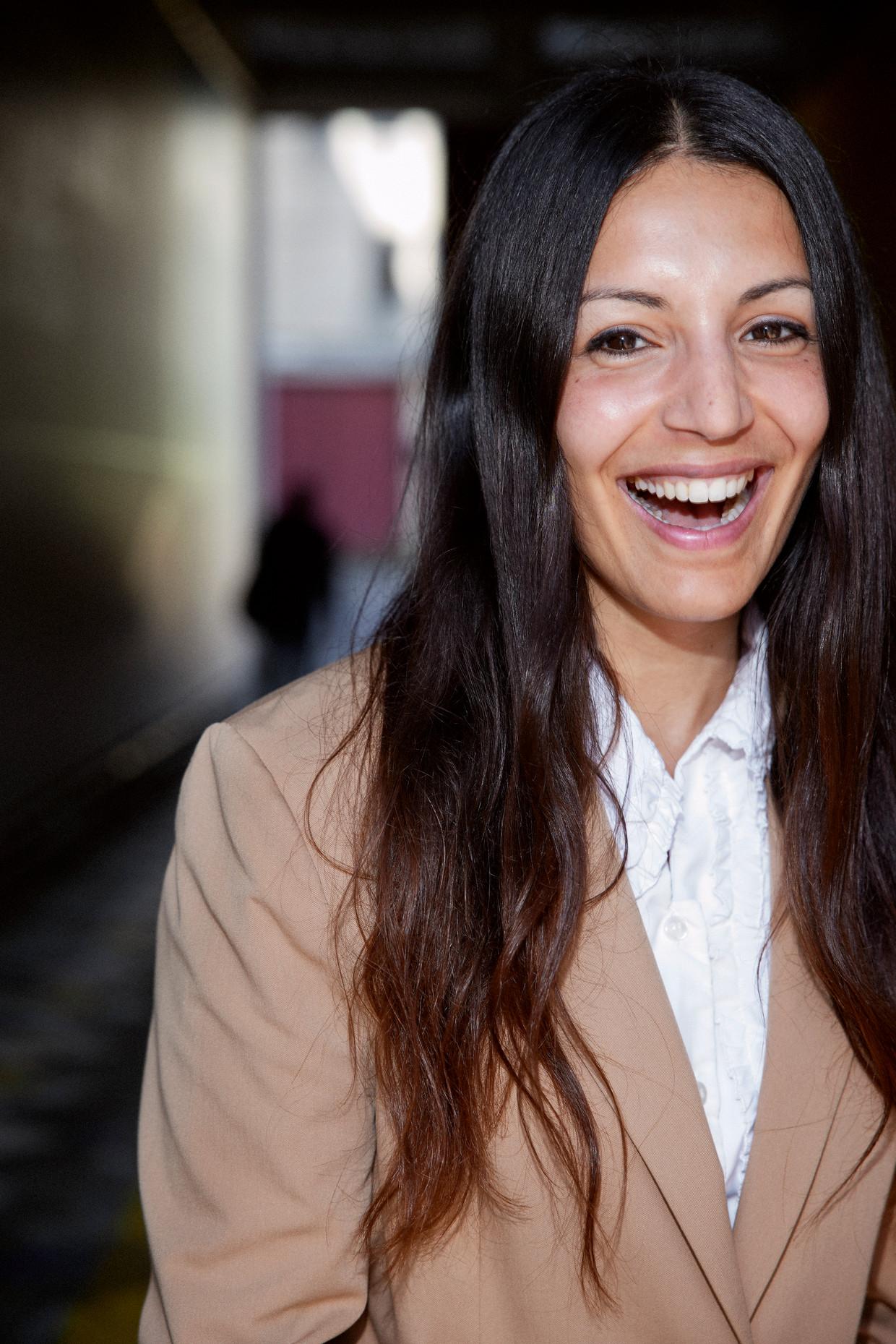 Naz Kawan: 'Ik voelde pas trots toen de kleermakers aan het werk konden.' Beeld Guy Offerman