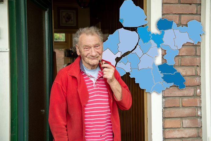 Henk van Kampen uit Deventer kocht zijn woning 48 jaar geleden voor 50.000 gulden. Nu is het bijna vijftien keer meer waard.
