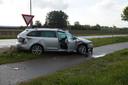 Vier gewonden na ongeval met twee auto's
