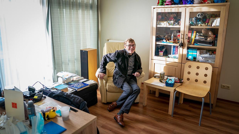 Jos was op GGz Breburg de eerste patiënt van de tweede golf. Op zijn verjaardag nota bene.