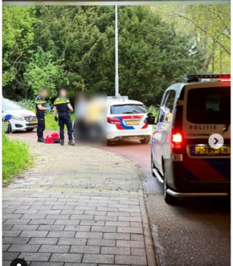 Politiehelikopter rukt uit voor 'inbraak' in IJsselstein, treft jongeren aan die voor de lol op dak klommen