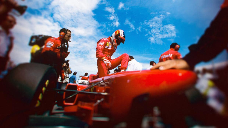 Michael Schumacher in 'Schumacher' Beeld Netflix