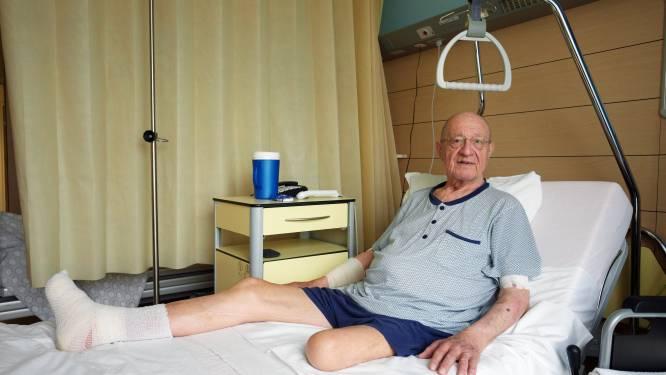"""Tony (76) schrijnend voorbeeld van wat uitgestelde zorg aanricht: """"Zonder corona had ik nog twee benen"""""""