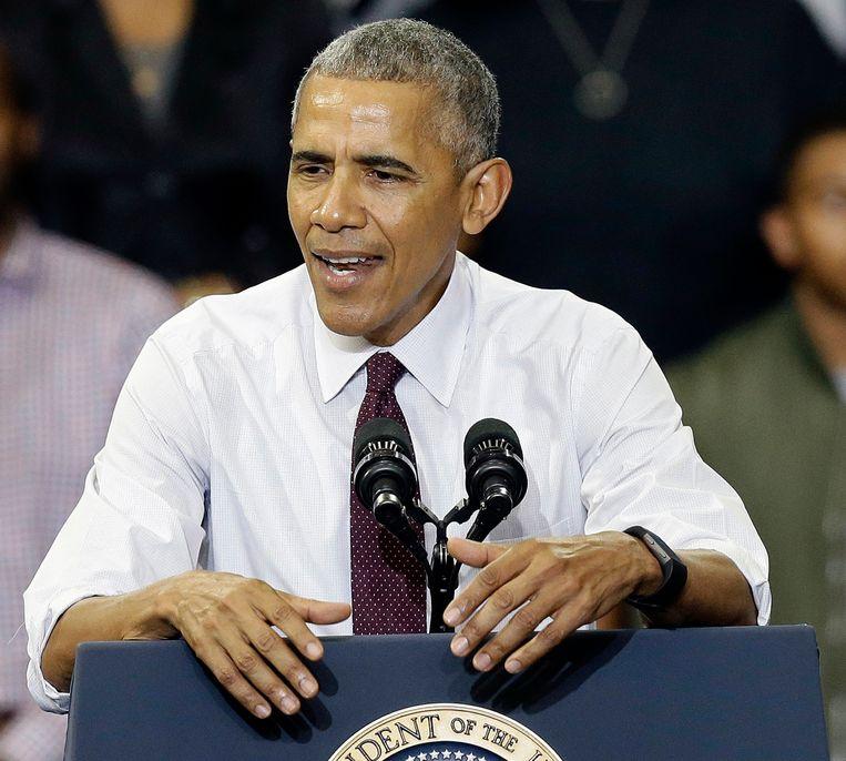 President Barack Obama. Beeld AP