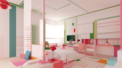 Knallen met kleur: hou jij het uit in dit interieur?