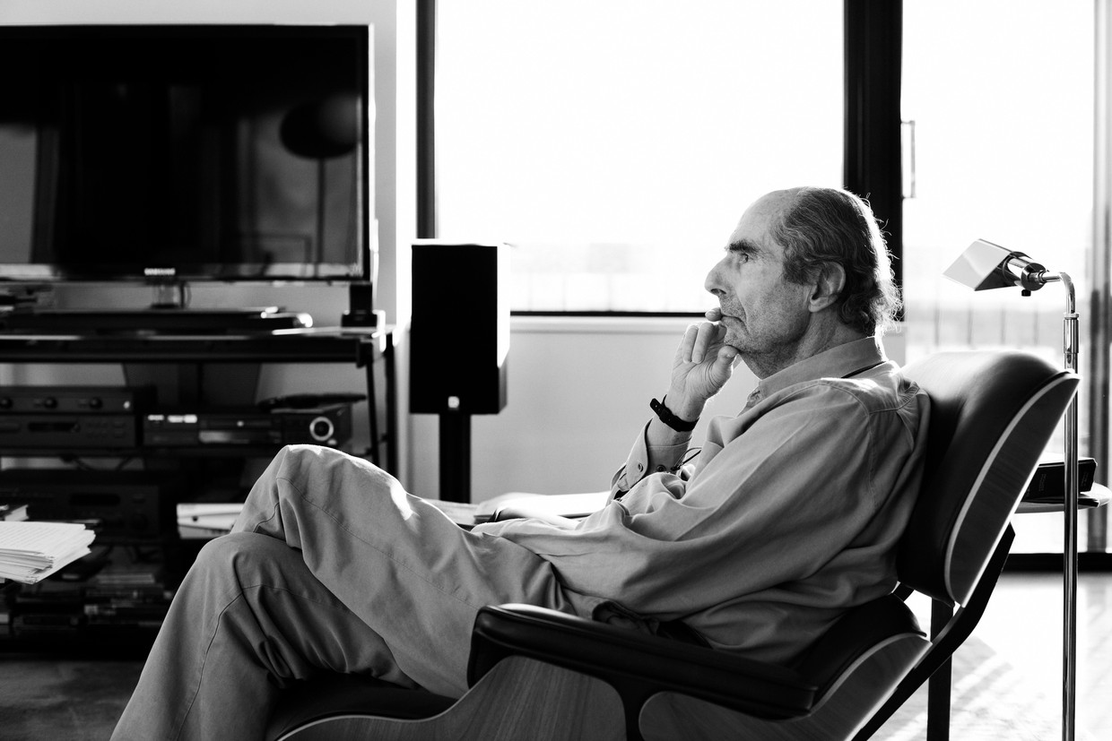Philip Roth in 2012. Beeld Contour by Getty Images