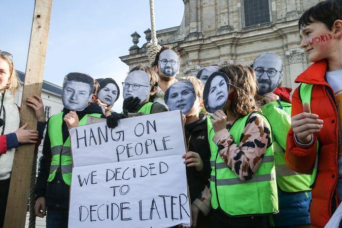 Archieffoto van een klimaatbetoging in Gent.