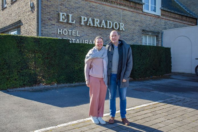 Nick Ver Eecke en Stefanie Verhaege van El Parador