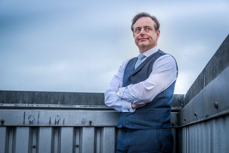 'Ik volg De Wever als hij spreekt over de balkanisering van het partijlandschap. Het lijkt de dans der dwergen.' Beeld ©Pieter-Jan Vanstockstraeten/ph