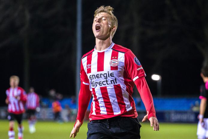 Albert Gudmundsson blijft maar scoren in de eerste divisie.