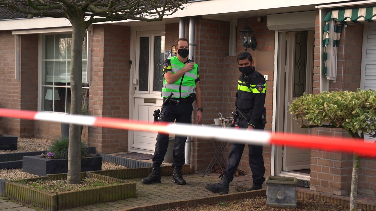 EINDHOVEN - De politie doet onderzoek na de schietpartij in januari