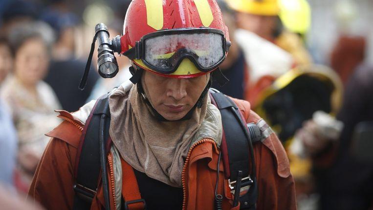 Archiefbeeld van een Thaise brandweerman.
