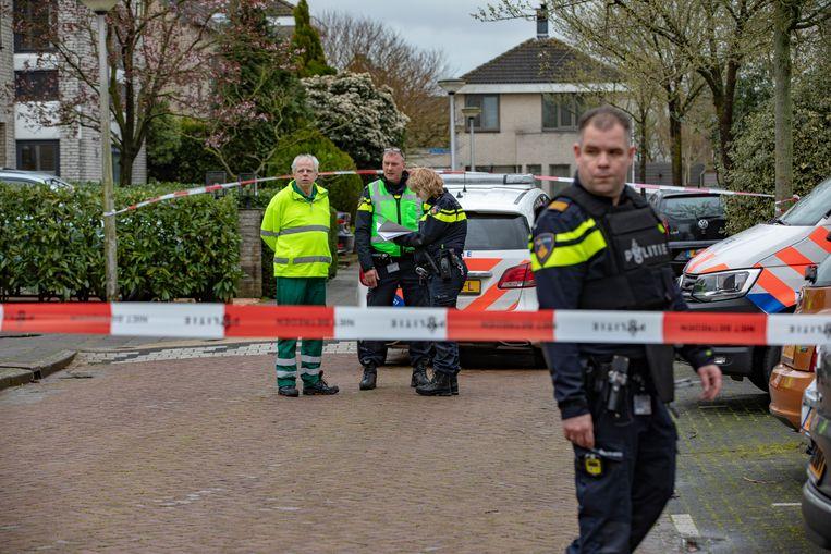 De Turks-Amsterdamse crimineel Ahmet G. werd op 16 maart 2019 neergeschoten bij zijn toenmalige woning aan de Grote Wielen in Amstelveen-Westwijk.  Beeld Michel van Bergen
