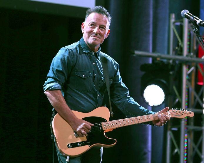 Bruce Springsteen tijdens een optreden in New York in 2016.