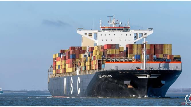 Nieuw record voor haven: test met schip met 15,7 meter diepgang geslaagd