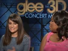 """L'interview qui illustre la tension qui régnait entre Lea Michele et sa collègue de """"Glee"""""""