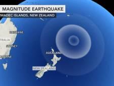 Derde zware aardbeving bij Nieuw-Zeeland, nu schok van 8,1, angst voor tsunami iets afgenomen