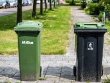 Bewoners spuiten fuchsia afvalbakken groen: 'Het triggert'