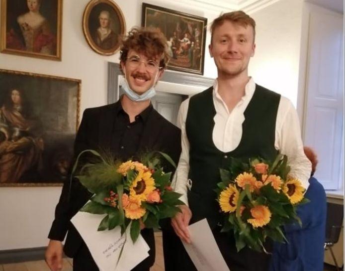 Martijn van Sas en Johannes Schwarz.
