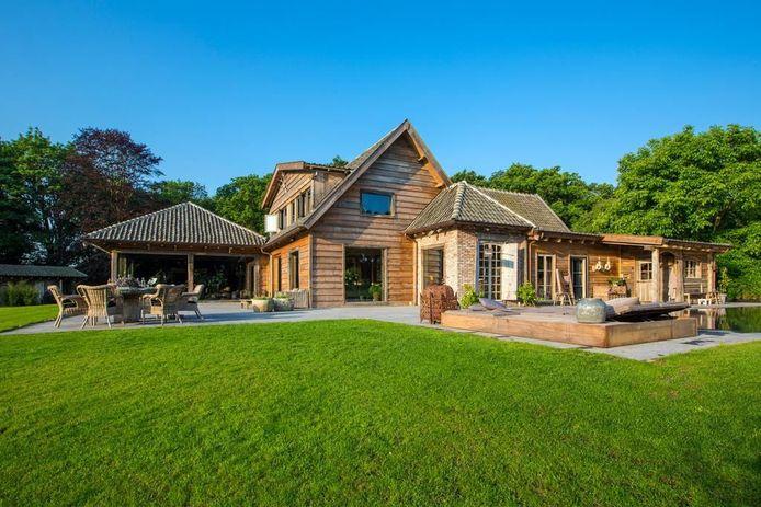 De villa van designer John-Guy van Keulen.