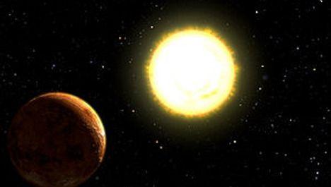 De 'lichtgevende' 55 Cancri-E.