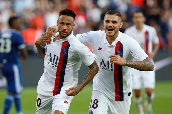 Neymar scoorde het voorbije weekend de enige en ultieme goal thuis tegen Straatsburg.