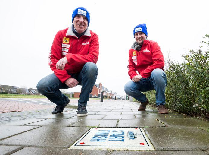 ]Ton van Klooster (links) en Evert Dijkstra van de Linschotenloop, die dit seizoen niet doorgaat vanwege corona.