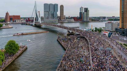 Na massademonstratie in Amsterdam komen ook inwoners Rotterdam op straat, maar protest wordt vroegtijdig afgebroken