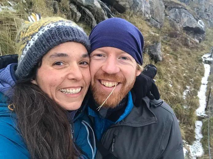 Kim Broux et Jochem Cuyers, deux Belges qui vivent en Norvège