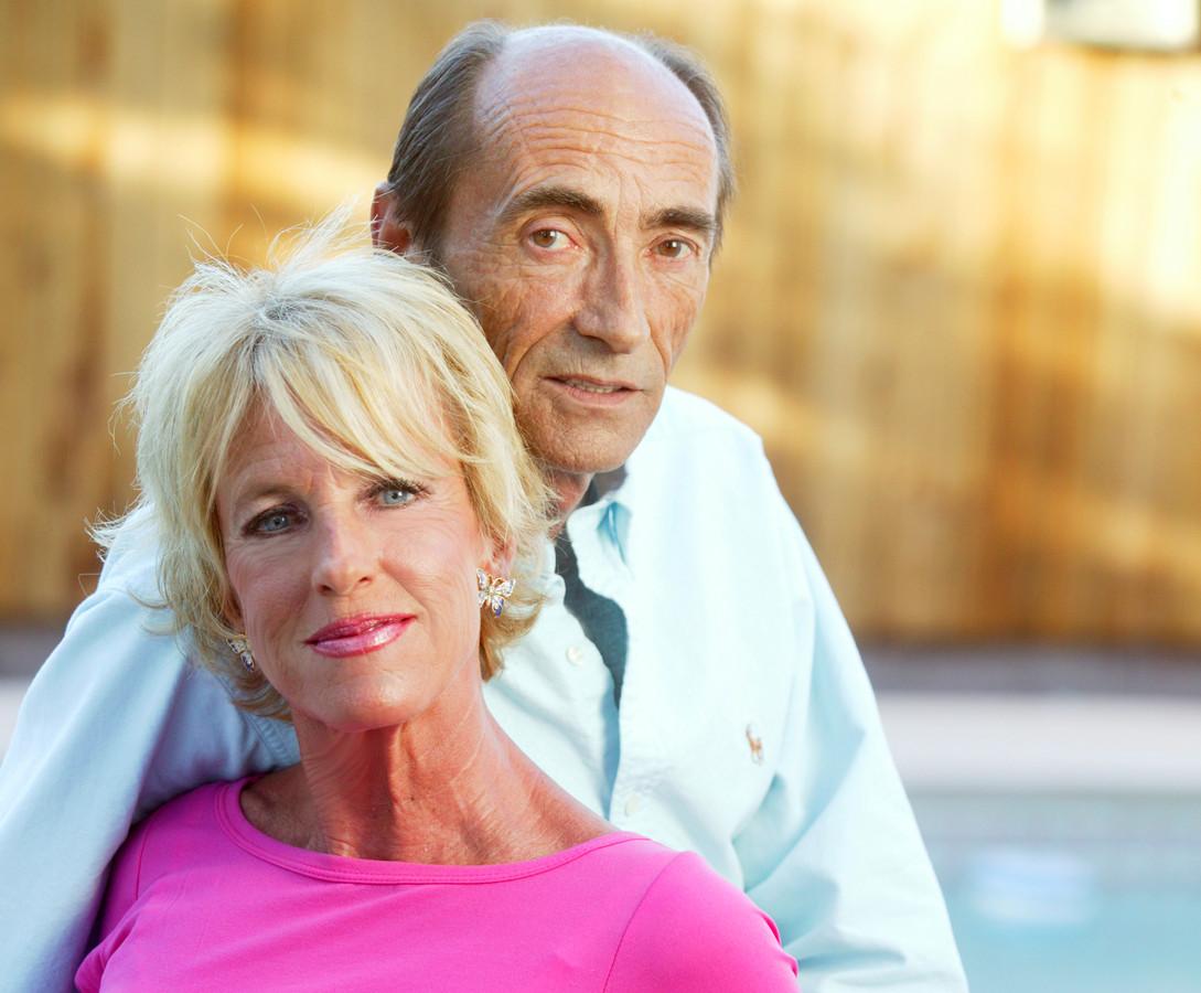 Prinses Marie-Christine en haar man Jean-Paul. Een foto uit 2007.