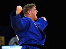 Tilburgse judoka Jur Spijkers als debutant gestrand in kwartfinales op EK judo