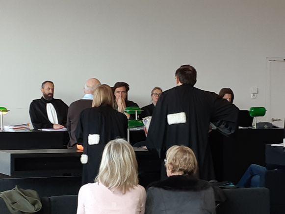Hubert Hamerlinck doet zijn verhaal aan rechter Hans De Waele.