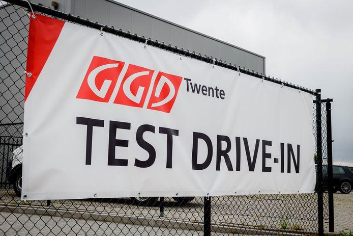 In Twente zijn meerdere teststraten geopend.