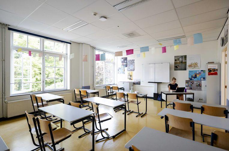 De scholensluiting tijdens de eerste lockdown heeft tot veel leerachterstanden geleid, vooral in groepen 7 en 8. Beeld ANP