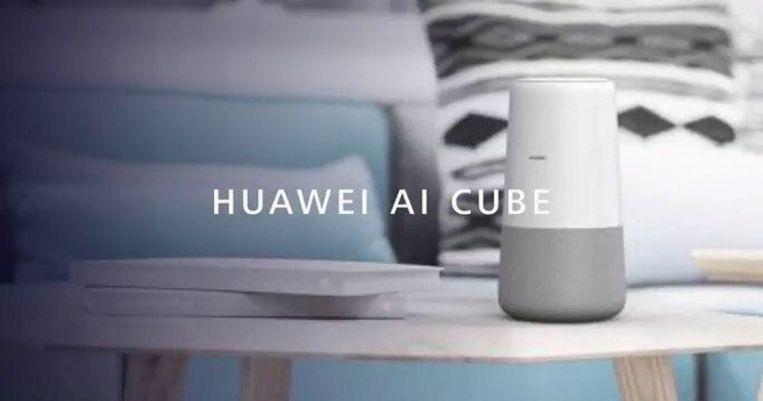 Promobeeld van Huawei's AI Cube.