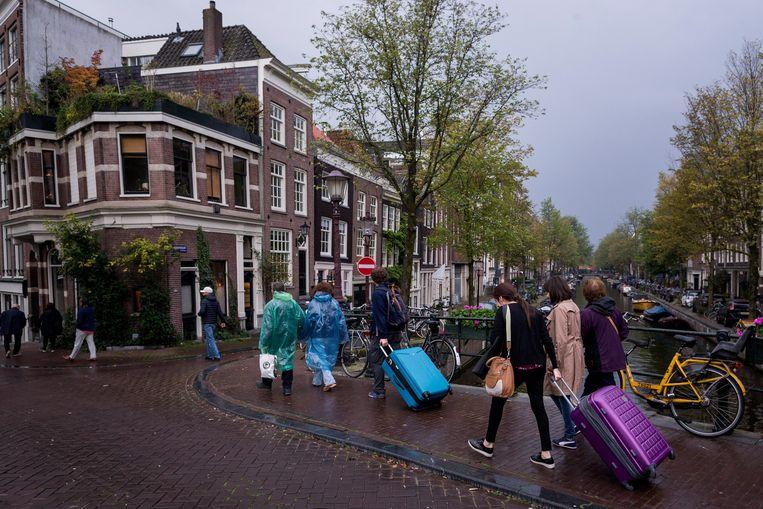 Iedere overtreder krijgt standaard een boete van 20.500 euro in Amsterdam. Beeld Rink Hof
