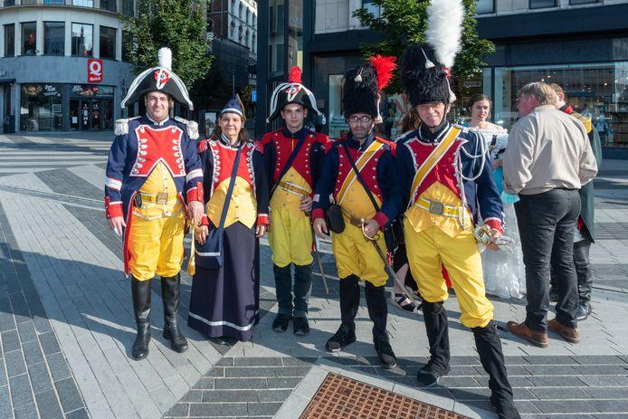 Un jeu napoléonien à Charleroi