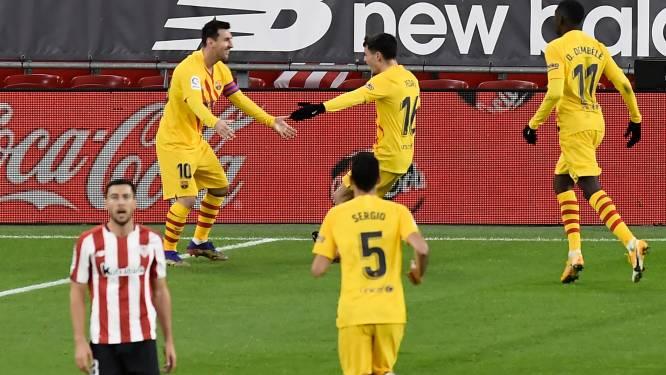 FC Barcelona kan het nog en ontdekt steeds meer Pedri (18), al is Messi met twee heerlijke goals weer dé ster